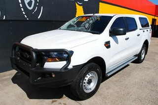 2016 Ford Ranger PX MkII XL Double Cab Cool White 6 Speed Sports Automatic Utility