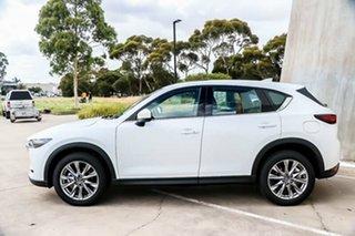 2018 Mazda CX-5 KF4W2A Akera SKYACTIV-Drive i-ACTIV AWD Snowflake White Pearl 6 Speed