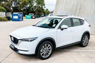 2018 Mazda CX-5 KF4W2A Akera SKYACTIV-Drive i-ACTIV AWD Snowflake White Pearl 6 Speed.