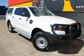 2016 Ford Ranger PX MkII XL Double Cab Cool White 6 Speed Sports Automatic Utility.