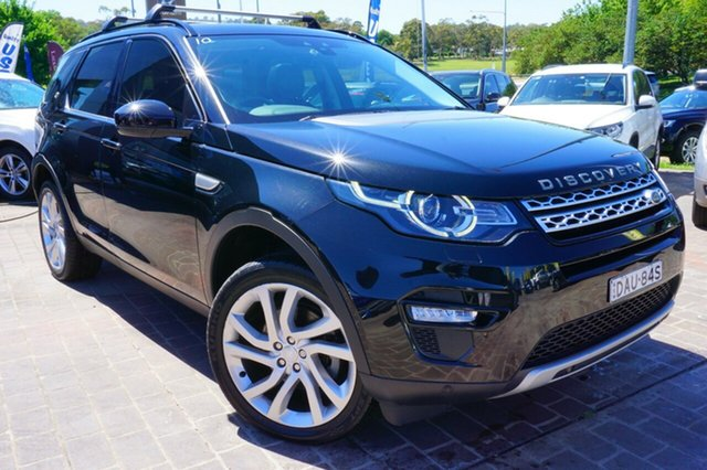 Used Land Rover Discovery Sport L550 16MY Td4 HSE, 2015 Land Rover Discovery Sport L550 16MY Td4 HSE Black 9 Speed Sports Automatic Wagon