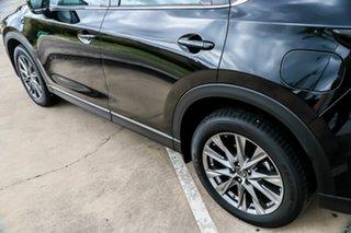 2018 Mazda CX-5 KF4WLA Akera SKYACTIV-Drive i-ACTIV AWD Jet Black 6 Speed Sports Automatic Wagon
