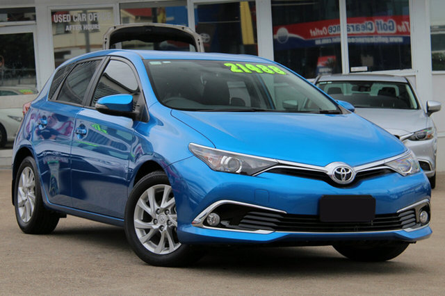 Used Toyota Corolla ZRE182R Ascent Sport S-CVT, 2017 Toyota Corolla ZRE182R Ascent Sport S-CVT Blue Gem 7 Speed Constant Variable Hatchback
