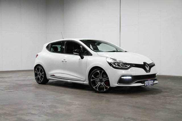Used Renault Clio IV B98 R.S. 220 EDC Trophy, 2016 Renault Clio IV B98 R.S. 220 EDC Trophy White 6 Speed Sports Automatic Dual Clutch Hatchback
