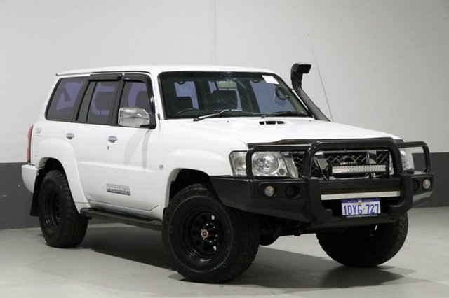 Used Nissan Patrol GU VI ST (4x4), 2008 Nissan Patrol GU VI ST (4x4) White 4 Speed Automatic Wagon