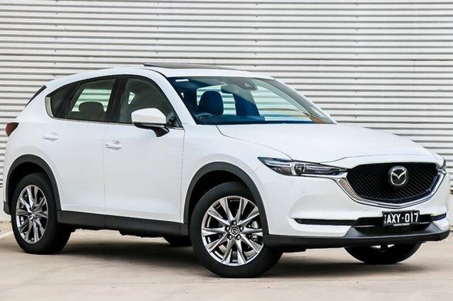 Demo Mazda CX-5 KF4W2A Akera SKYACTIV-Drive i-ACTIV AWD, 2018 Mazda CX-5 KF4W2A Akera SKYACTIV-Drive i-ACTIV AWD Snowflake White Pearl 6 Speed