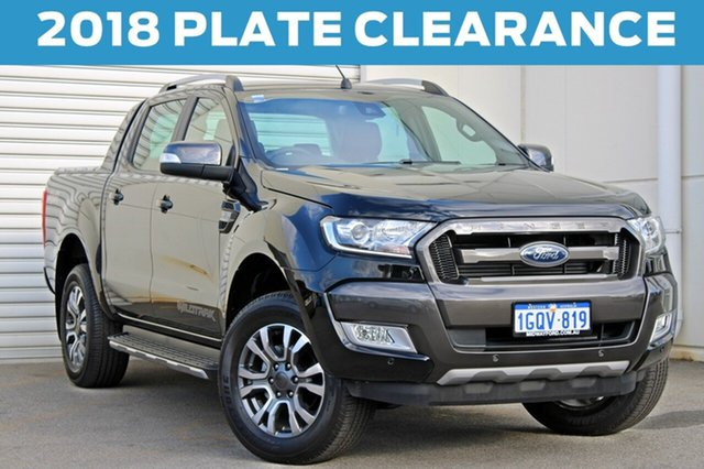 Demo Ford Ranger  Wildtrak Double Cab, 2018 Ford Ranger PX MKII 2018.00 Wildtrak Double Cab 6 Speed Sports Automatic Utility