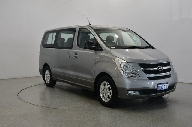 Used Hyundai iMAX TQ-W Selectronic, 2010 Hyundai iMAX TQ-W Selectronic Silver 5 Speed Sports Automatic Wagon