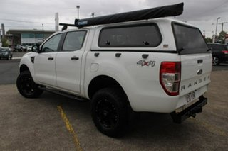 2013 Ford Ranger PX XL Double Cab White 6 Speed Manual Utility.