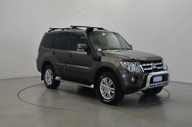 Used Mitsubishi Pajero NW MY14 VR-X, 2014 Mitsubishi Pajero NW MY14 VR-X Graphite 5 Speed Sports Automatic Wagon