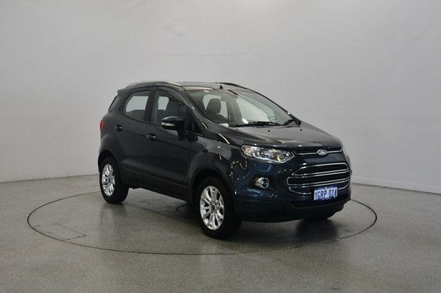 Used Ford Ecosport BK Titanium PwrShift, 2013 Ford Ecosport BK Titanium PwrShift Sea Grey 6 Speed Sports Automatic Dual Clutch Wagon
