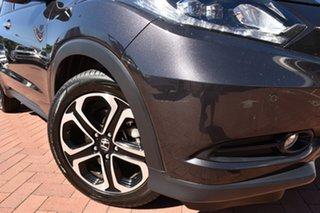 2017 Honda HR-V MY17 VTi-L Ruse Black 1 Speed Constant Variable Hatchback.