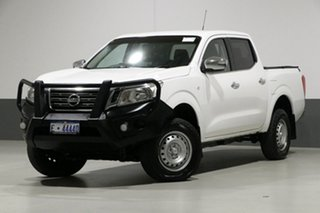 2015 Nissan Navara NP300 D23 RX (4x4) White 7 Speed Automatic Double Cab Utility.