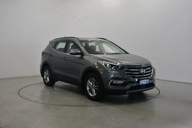Used Hyundai Santa Fe DM5 MY18 Active, 2018 Hyundai Santa Fe DM5 MY18 Active Titanium Silver 6 Speed Sports Automatic Wagon