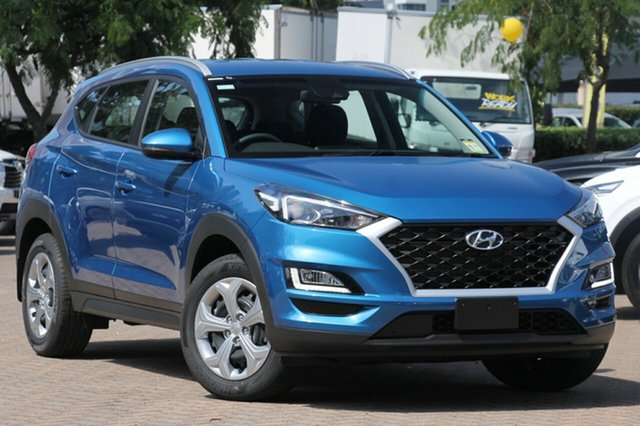 New Hyundai Tucson TL3 MY19 Go AWD, 2018 Hyundai Tucson TL3 MY19 Go AWD Aqua Blue 8 Speed Sports Automatic Wagon