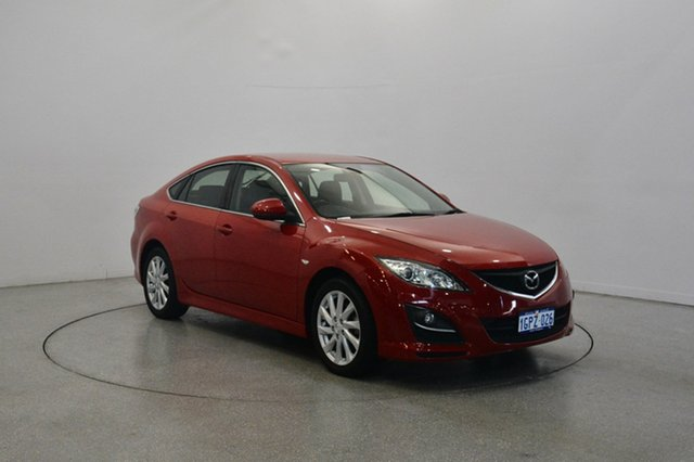 Used Mazda 6 GH1051 MY09 Classic, 2010 Mazda 6 GH1051 MY09 Classic Red 5 Speed Sports Automatic Hatchback