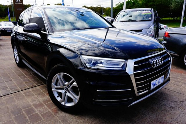 Used Audi Q5 FY MY17 TDI S tronic quattro ultra design, 2017 Audi Q5 FY MY17 TDI S tronic quattro ultra design Black 7 Speed Sports Automatic Dual Clutch