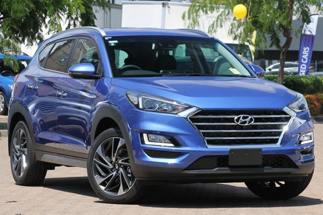 New Hyundai Tucson TLE3 MY19 Special Edition AWD, 2018 Hyundai Tucson TLE3 MY19 Special Edition AWD Champion Blue 8 Speed Sports Automatic Wagon