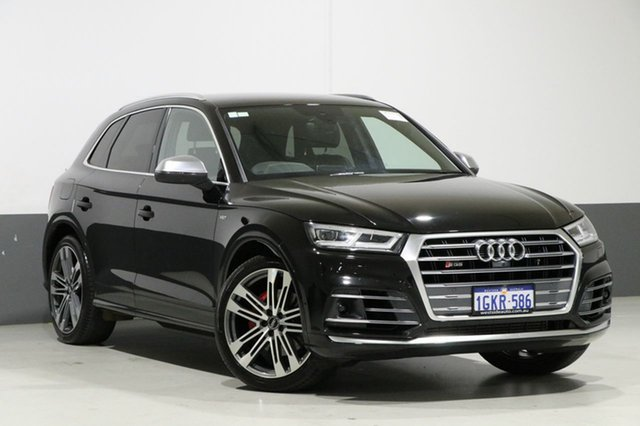 Used Audi SQ5 FY MY17 3.0 TFSI Quattro, 2017 Audi SQ5 FY MY17 3.0 TFSI Quattro Mythos Black 8 Speed Automatic Tiptronic Wagon
