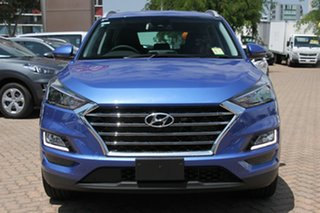 2018 Hyundai Tucson TLE3 MY19 Special Edition AWD Champion Blue 8 Speed Sports Automatic Wagon