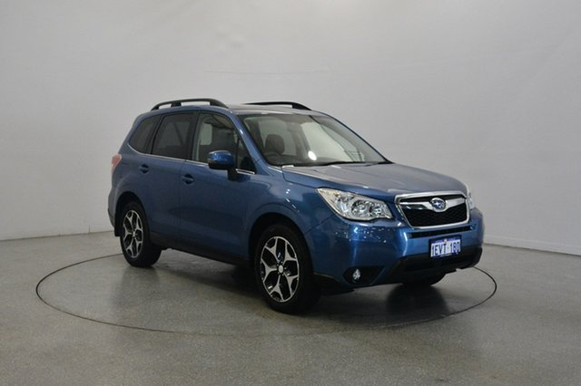 Used Subaru Forester S4 MY15 2.0D-S CVT AWD, 2015 Subaru Forester S4 MY15 2.0D-S CVT AWD Blue 7 Speed Constant Variable Wagon