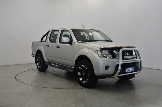 Used Nissan Navara D40 S7 ST, 2014 Nissan Navara D40 S7 ST Silver 5 Speed Sports Automatic Utility