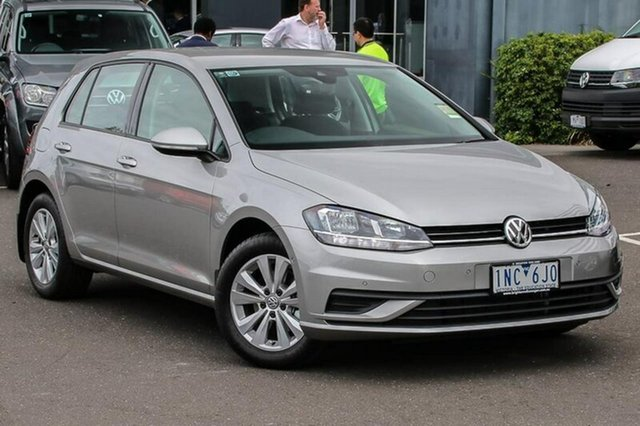 Used Volkswagen Golf 7.5 MY18 110TSI DSG Trendline, 2018 Volkswagen Golf 7.5 MY18 110TSI DSG Trendline Silver 7 Speed Sports Automatic Dual Clutch