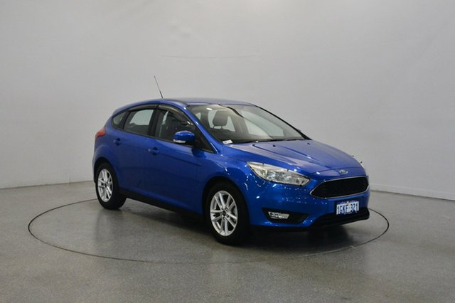 Used Ford Focus LZ Trend, 2017 Ford Focus LZ Trend Blue 6 Speed Automatic Hatchback