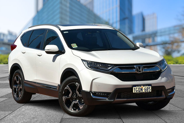 Demo Honda CR-V RW MY18 VTi-LX 4WD, 2018 Honda CR-V RW MY18 VTi-LX 4WD White Orchid 1 Speed Constant Variable Wagon