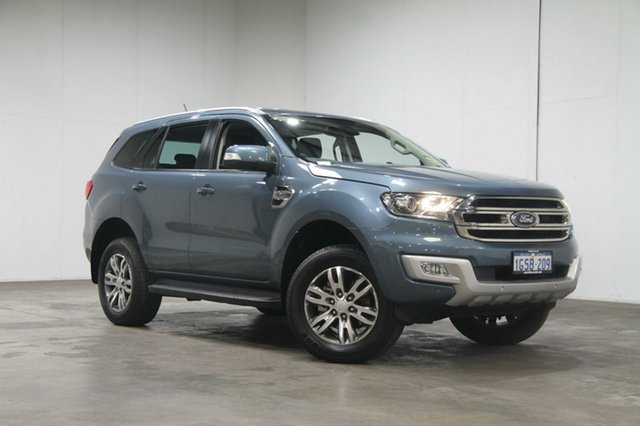 Used Ford Everest UA 2018.00MY Trend RWD, 2018 Ford Everest UA 2018.00MY Trend RWD Blue 6 Speed Sports Automatic Wagon