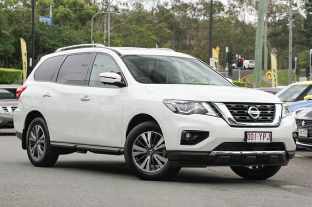 Demo Nissan Pathfinder R52 Series II MY17 ST-L X-tronic 4WD, 2017 Nissan Pathfinder R52 Series II MY17 ST-L X-tronic 4WD Ivory Pearl 1 Speed Constant Variable
