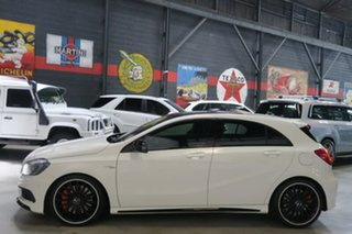 2014 Mercedes-Benz A45 W176 AMG SPEEDSHIFT DCT 4MATIC White 7 Speed Sports Automatic Dual Clutch