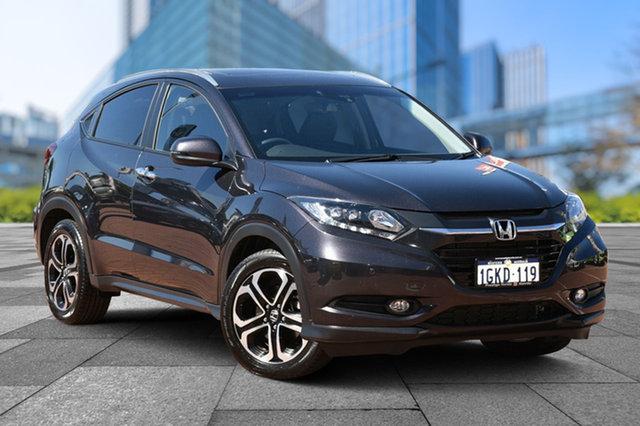 Used Honda HR-V MY17 VTi-L, 2017 Honda HR-V MY17 VTi-L Ruse Black 1 Speed Constant Variable Hatchback