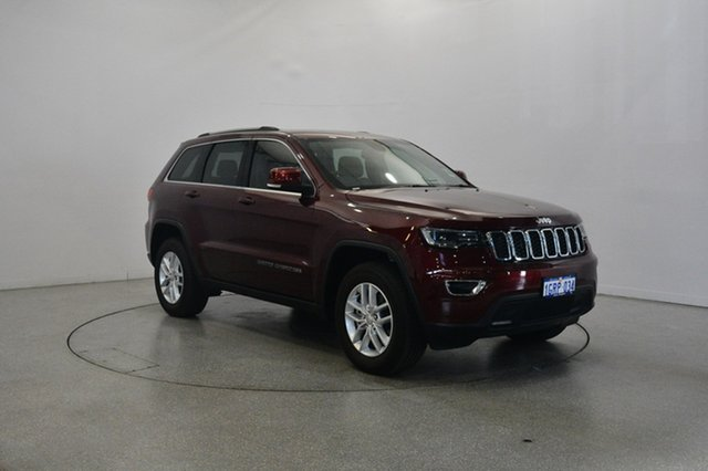 Used Jeep Grand Cherokee WK MY18 Laredo, 2018 Jeep Grand Cherokee WK MY18 Laredo Velvet Red 8 Speed Sports Automatic Wagon