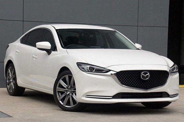 New Mazda 6 GL1032 GT SKYACTIV-Drive, 2018 Mazda 6 GL1032 GT SKYACTIV-Drive White Pearl 6 Speed Sports Automatic Sedan