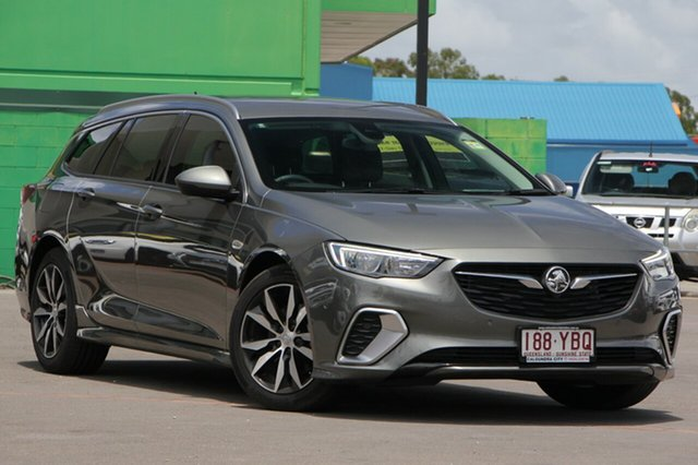 Used Holden Commodore ZB MY18 RS Sportwagon, 2017 Holden Commodore ZB MY18 RS Sportwagon Cosmic Grey 9 Speed Sports Automatic Wagon