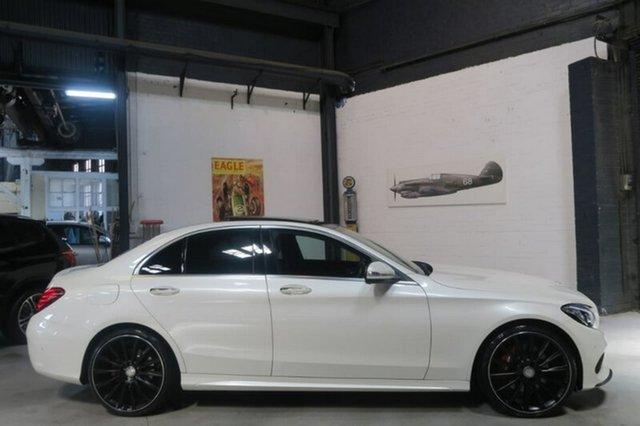 Used Mercedes-Benz C250 W205 7G-Tronic +, 2015 Mercedes-Benz C250 W205 7G-Tronic + White 7 Speed Sports Automatic Sedan