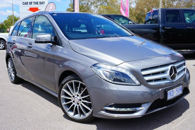 Used Mercedes-Benz B200 W246 DCT, 2014 Mercedes-Benz B200 W246 DCT Grey 7 Speed Sports Automatic Dual Clutch Hatchback