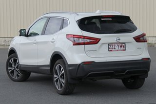2018 Nissan Qashqai J11 Series 2 ST-L X-tronic Ivory Pearl 1 Speed Constant Variable Wagon.