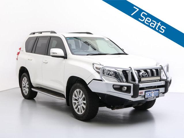 Used Toyota Landcruiser Prado GDJ150R MY16 VX (4x4), 2015 Toyota Landcruiser Prado GDJ150R MY16 VX (4x4) White 6 Speed Automatic Wagon