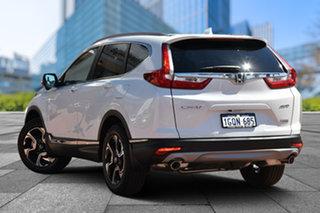 2018 Honda CR-V RW MY18 VTi-LX 4WD White Orchid 1 Speed Constant Variable Wagon.