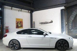2012 BMW 640i F13 MY0312 Steptronic White 8 Speed Sports Automatic Coupe.