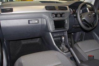 2018 Volkswagen Caddy 2K MY19 TSI220 LWB DSG Beach Indium Grey 7 Speed Sports Automatic Dual Clutch.