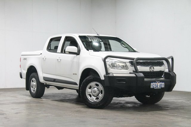 Used Holden Colorado RG MY13 LX Crew Cab, 2013 Holden Colorado RG MY13 LX Crew Cab White 6 Speed Sports Automatic Utility