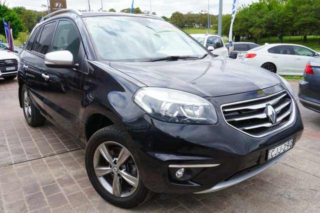 Used Renault Koleos H45 Phase II Bose Special Edition, 2013 Renault Koleos H45 Phase II Bose Special Edition Grey 1 Speed Constant Variable Wagon