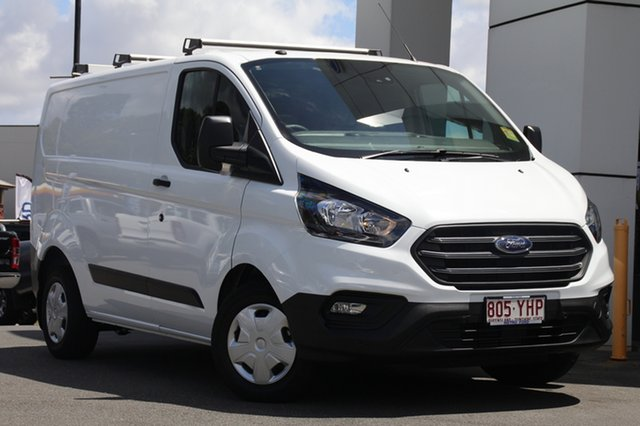 Demo Ford Transit Custom VN 2018.5MY 300S Low Roof SWB, 2018 Ford Transit Custom VN 2018.5MY 300S Low Roof SWB Frozen White 6 Speed Manual Van