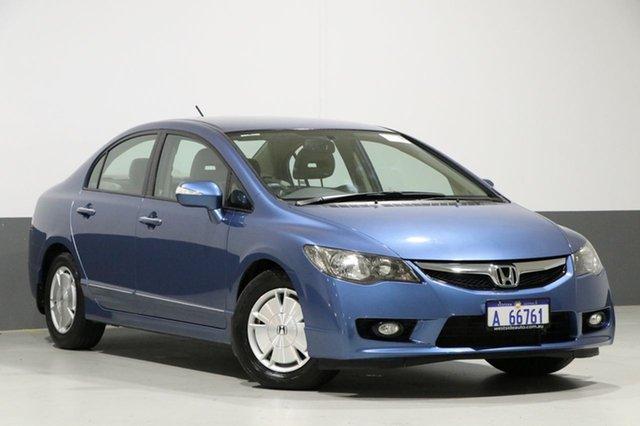 Used Honda Civic MY07 Hybrid, 2009 Honda Civic MY07 Hybrid Blue Continuous Variable Sedan