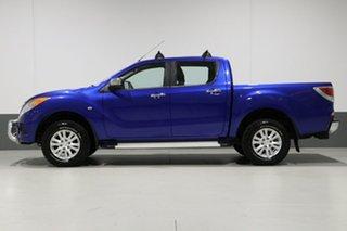 2013 Mazda BT-50 MY13 XTR (4x4) Blue 6 Speed Automatic Dual Cab Utility