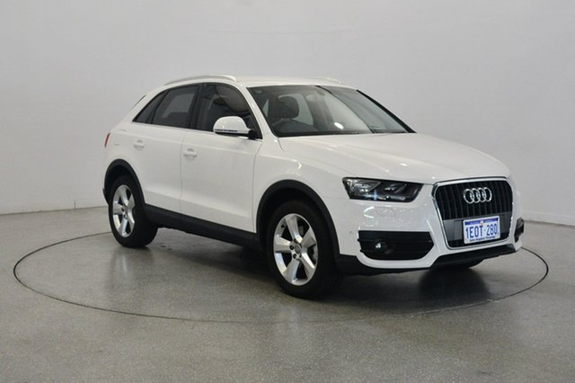 Used Audi Q3 8U MY14 TFSI S tronic, 2014 Audi Q3 8U MY14 TFSI S tronic White 6 Speed Sports Automatic Dual Clutch Wagon