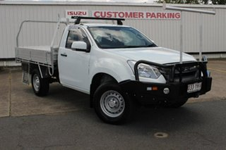 2018 Isuzu D-MAX MY18 SX 4x2 High Ride White 6 Speed Sports Automatic Cab Chassis.